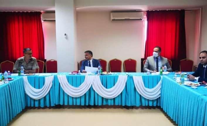 mahkumların sağlık hizmetlerinin yürütülmesi hususunda toplantı yapıldı