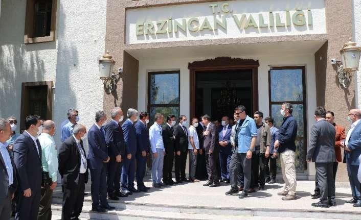 Vali Arslantaş, Erzincan'a veda etti