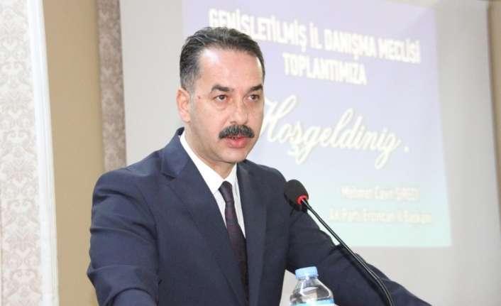 AK Parti Erzincan İl Başkanı Şireci, kongre sürecini değerlendirdi