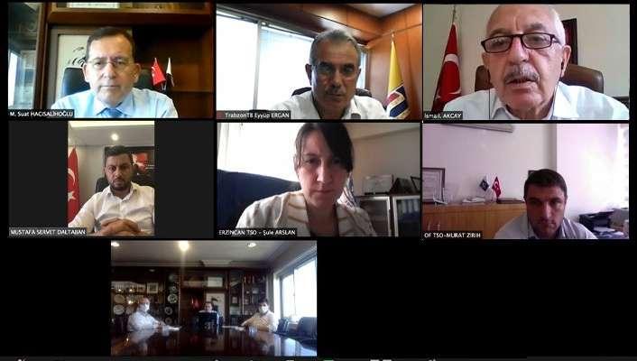 """Erzincan TSO Genel Sekreteri Şule Arslan: """"Gönlümüz böyle bir projenin Tarihi İpekyolu üzerinde çok önemli bir il olan Erzincan'dan geçmesinden yana"""""""