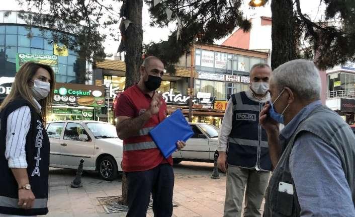 Erzincan'da 65 yaş üstü denetimi