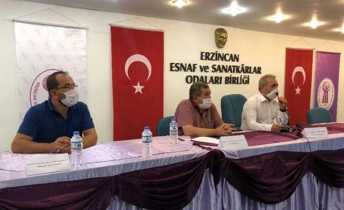Pozitif vakaların arttığı Erzincan'da karton bardak, cam bardak istişaresi