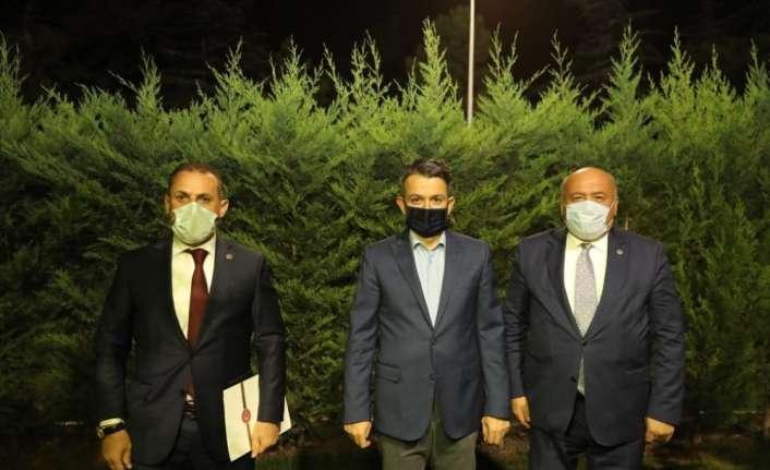 Erzincan Milletvekilleri Bakan Pakdemirli ile biraraya geldi