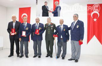 Kıbrıs Gazilerini Onurlandıran Tören
