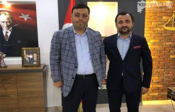 Milletvekili Av. Bayram'dan Erzincan Barosuna Ziyaret