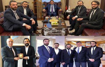 Baro Başkanı Av. Aktürk'ten Önemli Ziyaretler