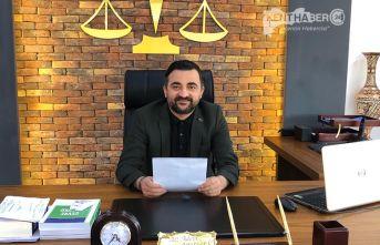 Erzincan Baro Başkanı Aktürk, Avukatlar Ciddi Ekonomik Kriz İçerisinde