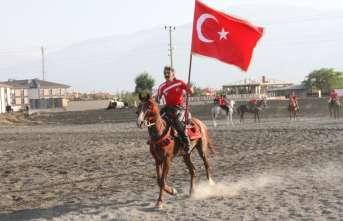 Asırlık gelenek cirit Erzincan yaşatılıyor