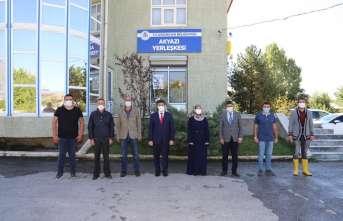 Başkan Aksun, mahallelerde incelemelerde bulundu