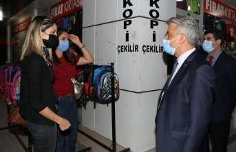Erzincan'da Covid-19 denetimi