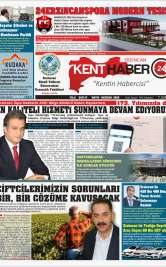 Kenthaber24| Kentin Habercisi - Mayıs-Haziran