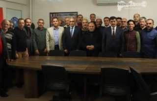Başkan Aksun'dan İadeyi Ziyaret
