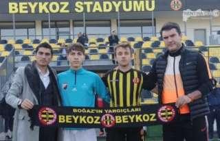 Beykoz 1908 Spor, İstanbul Gençlergücü Spor Maçında...