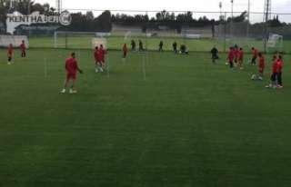 Erzincan sporda Devre Arası Kamp