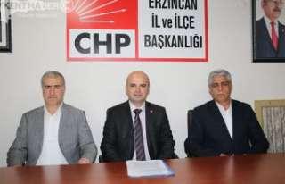 CHP İl Başkanlığına Adaylığını Açıkladı
