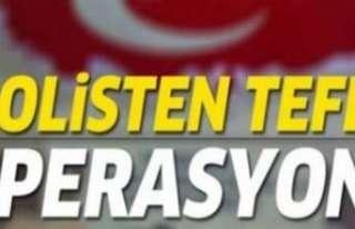 Erzincan'da tefecilik operasyonu