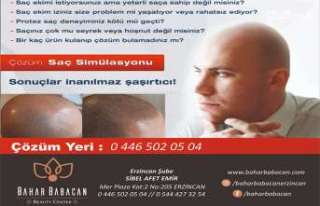 Erzincan'da İlk, Bahar Babacan Beauty Center da...