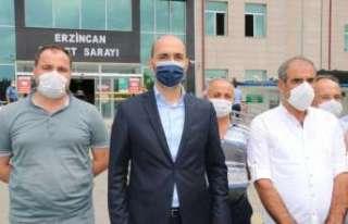 AK Parti Merkez İlçe Başkanı Bulut, mazbatasını...