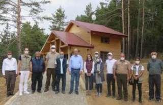 DKMP Genel Müdürü Üzmez, Dumanlı Tabiat Parkında...