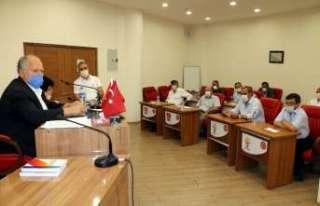 Erzincan'da eylül ayı meclis toplantısı yapıldı