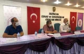 Pozitif vakaların arttığı Erzincan'da karton...