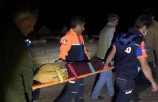 Yaylada rahatsızlanan kadını UMKE ve AFAD kurtardı
