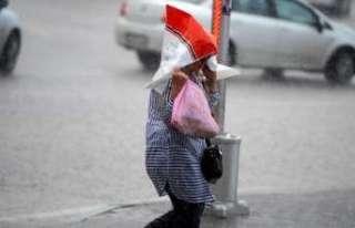 Doğu Anadolu'da sağanak ve kuvvetli rüzgar bekleniyor