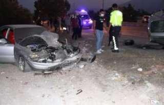 Erzincan'da trafik kazası: 1 yaralı