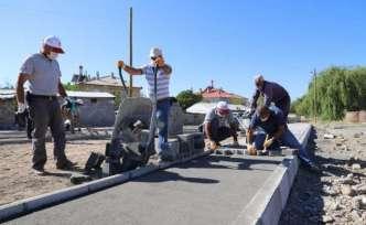 Erzincan'da yeşil alan çalışmaları devam ediyor