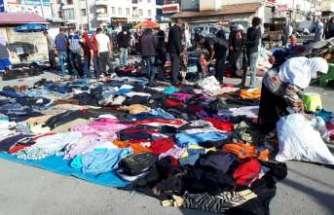 Erzincan'da bitpazarına nur yağdı! Her şey üçte bir fiyatına satılıyor