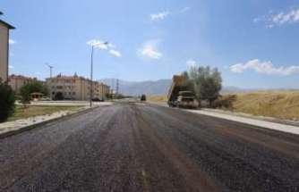 Mimar Sinan Mahallesinde sathi kaplama çalışmaları bitti