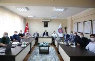 OSB yönetim kurulu toplantısı Vali Makas başkanlığında yapıldı