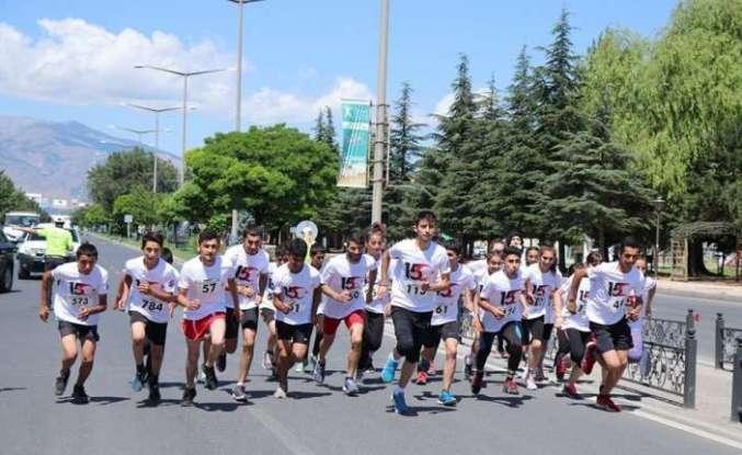 Erzincan'da 15 Temmuz koşusu