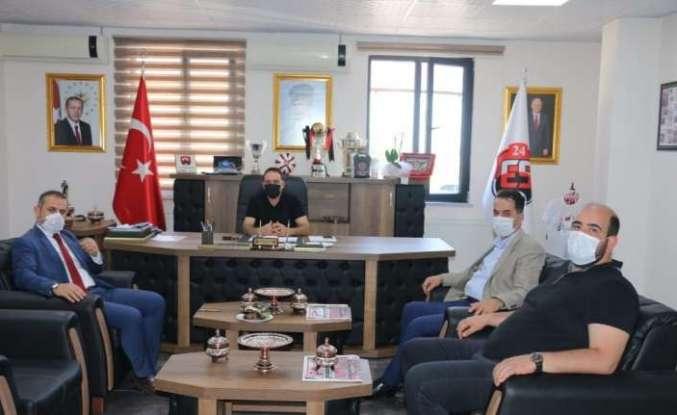 Milletvekili Çakır'dan 24Erzincanspora ziyaret