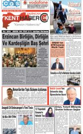 Kenthaber24| Kentin Habercisi - 08.09.2019 Manşeti