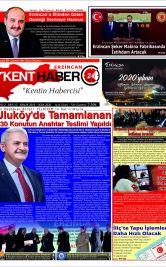 Kenthaber24| Kentin Habercisi - 20.01.2020 Manşeti