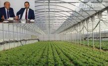 Uluköyde 100 çiftçiye 2'şer Dekar Sera Alanı