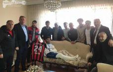 24Erzincanspordan İdlib Gazisine Ziyaret