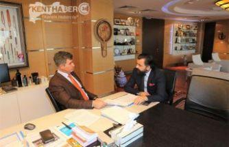 Başkan Av. Aktürk'ten Fevzioğlu'na Ziyaret