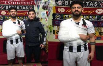 İstanbul Gençler gücü Spor Santraforu Sakatlandı