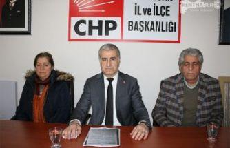 CHP İl Başkanı Doğan, İşyerleri Kepenk Kapatıyor