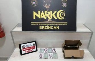Erzincan'da Uyuşturucu Operasyonu