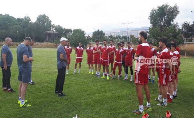 Anagold 24 Erzincan Spor Topbaşı Yaptı