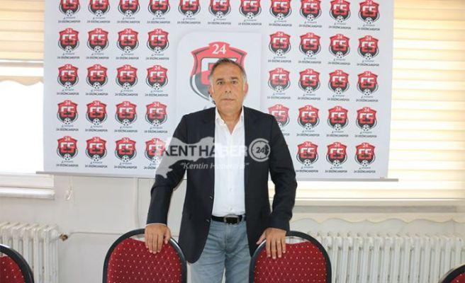 Anagold 24 Erzincan sporda Sportif Direktör Belli Oldu