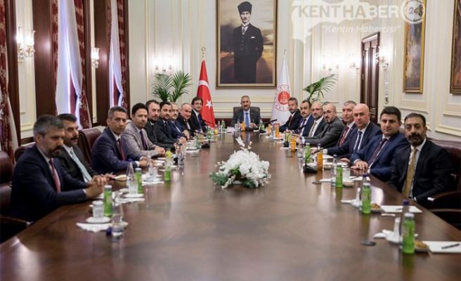 Başkan Aktürk'ten Adalet Bakanı Gül'e Önemli Ziyaret