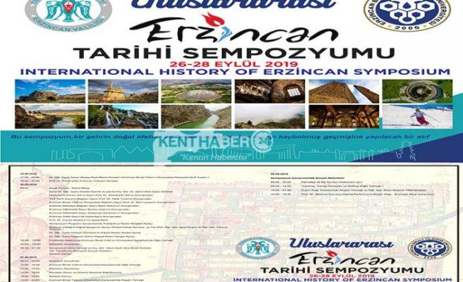 Erzincan Tarihi Sempozyuma Hazır