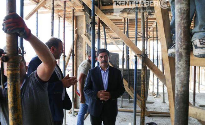Başkan Aksun'dan Tesislere Ziyaret