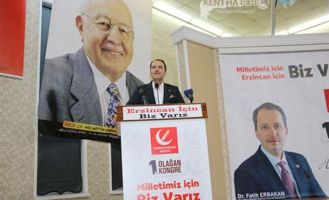 Erbakan; Erzincan'a Verilen Sözler Tutulmadı