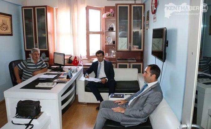 Vali Yardımcısı Ayrancı'dan Kenthaber24'e Ziyaret