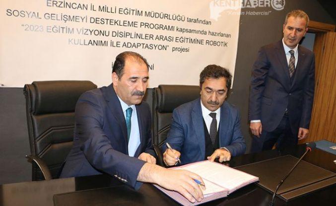 1 Milyon 444 Bin 444 TL Bütçeli Proje İmzalandı